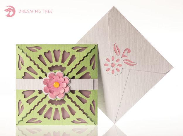 Blossom Greeting Card SVG