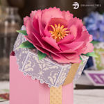 Picture of Peony Gift Box SVG