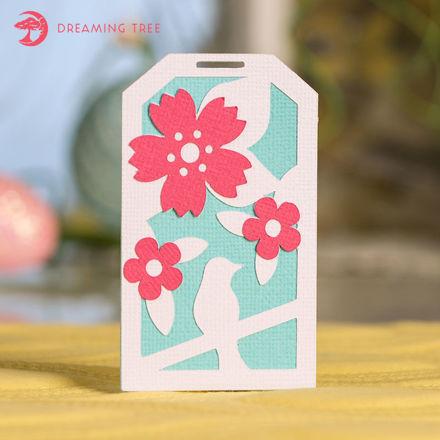 Blossom Tag (Free SVG)