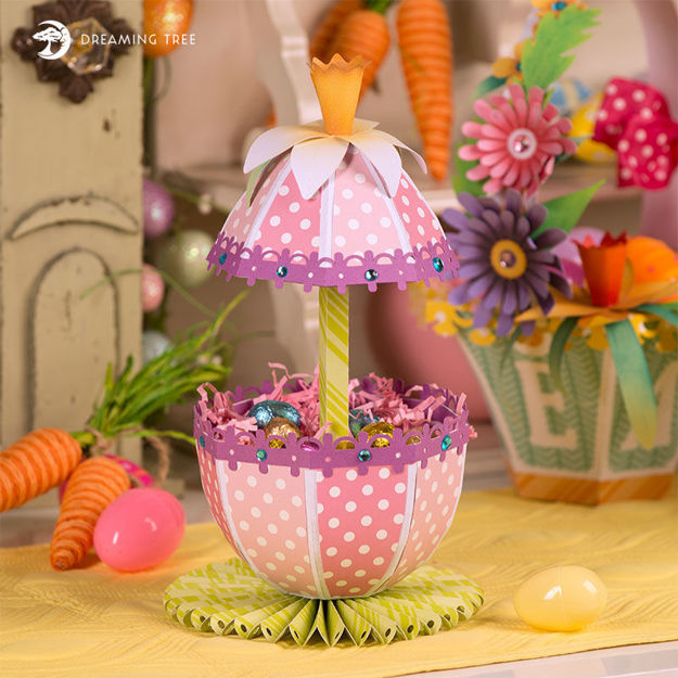 Easter Gift Box Umbrella Egg