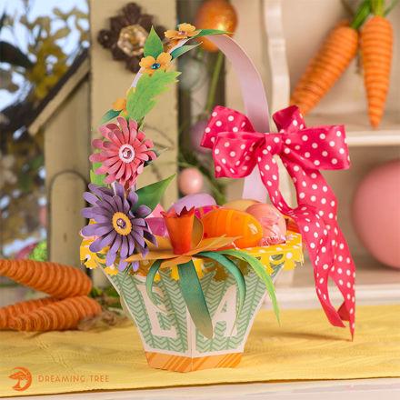 Picture of Blossom Basket SVG