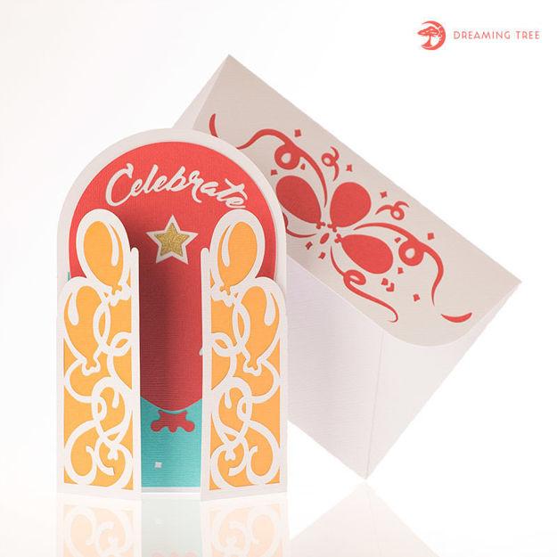 Picture of Celebrate Gatefold Card SVG