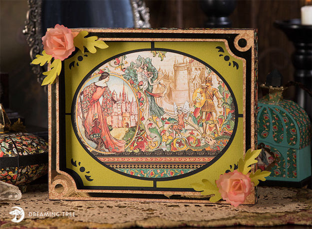 Picture of Antique Tray SVG