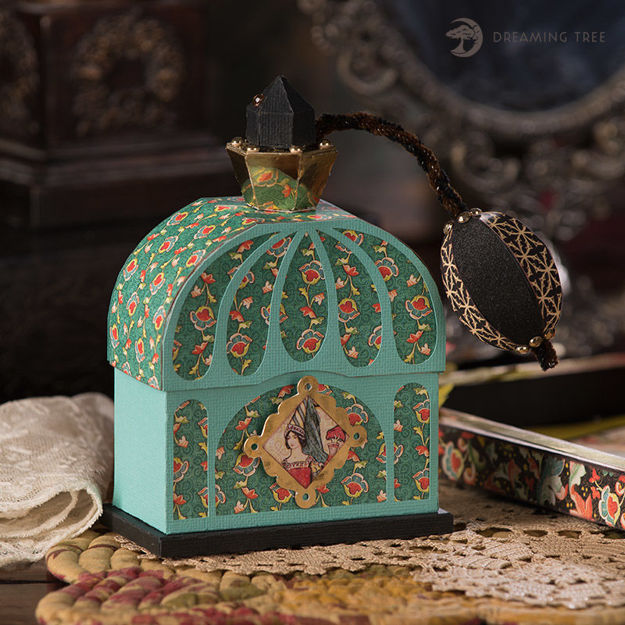 Opaline Fragrance Box SVG