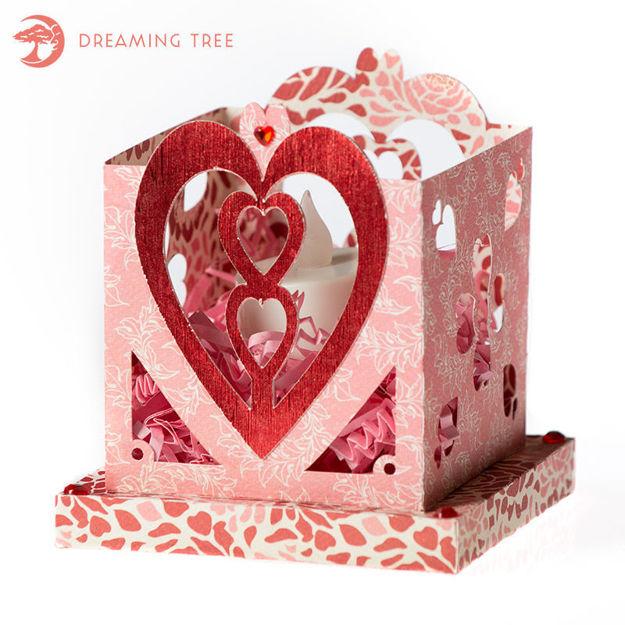 Free Valentine Tea Light Holder
