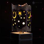 Stardust Spinning Luminary SVG