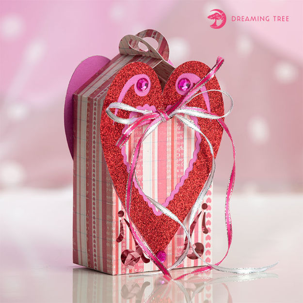 Free Valentine Heart Box