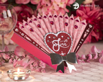 Picture of Heart Fan Box SVG