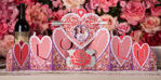 Valentine's Day I Love You SVG Banner Photo Holder