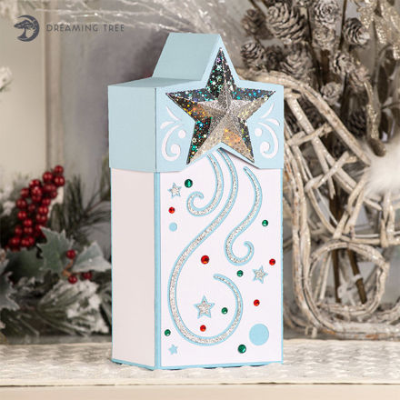 Star Gift Box SVG