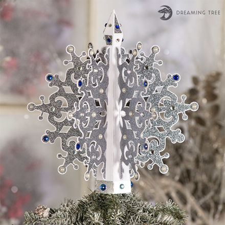 Picture of Snowflake Tree Topper SVG