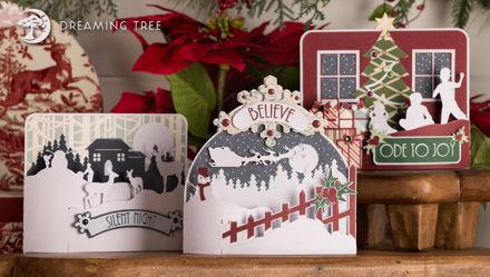 Picture of Christmas Bendi Cards SVG Bundle