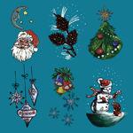Stingy Jack's Halloween Lantern I - Christmas Panels