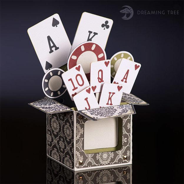 Poker Box Card SVG