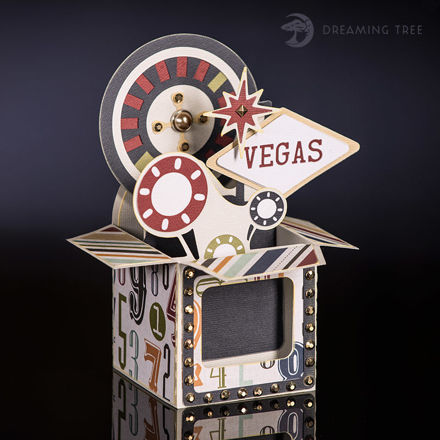 Picture of Roulette Box Card SVG