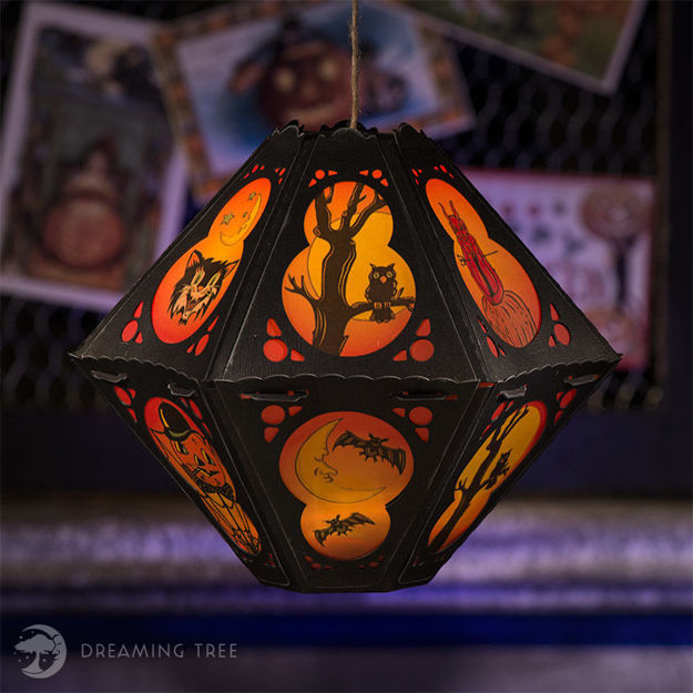 Picture of Stingy Jack's Halloween Lantern I SVG