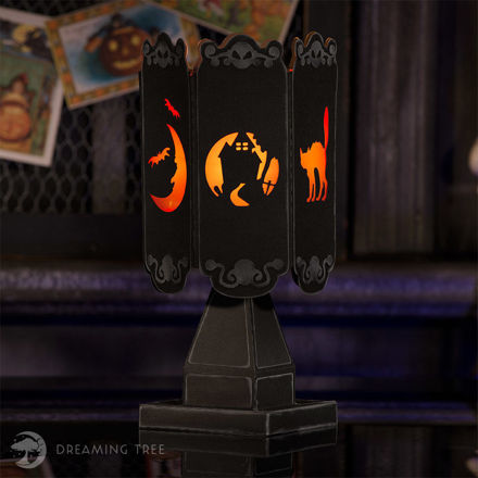 Picture of Stingy Jack's Halloween Lantern III SVG