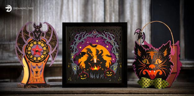 All Hallows' Eve SVG Bundle