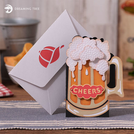 Picture of Father's Day Cheers Card SVG