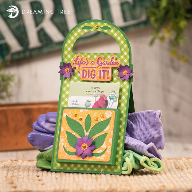 Seeds & Glove Tote SVG