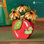 Suzy's Apple Floral Teachers Gift
