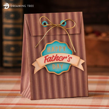 Picture of Father's Day Gift Bag (Free SVG)