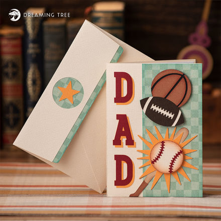Picture of Sports Dad Card SVG