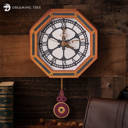 Picture of Pendulum Wall Clock SVG