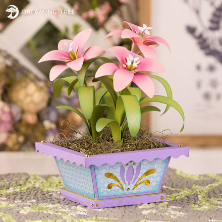 Picture of Fairy Lilies SVG