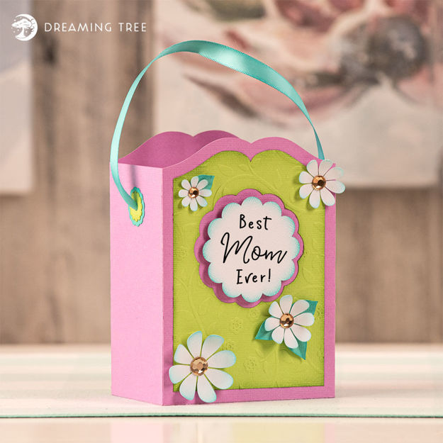 Picture of Best Mom Gift Bag (Free SVG)