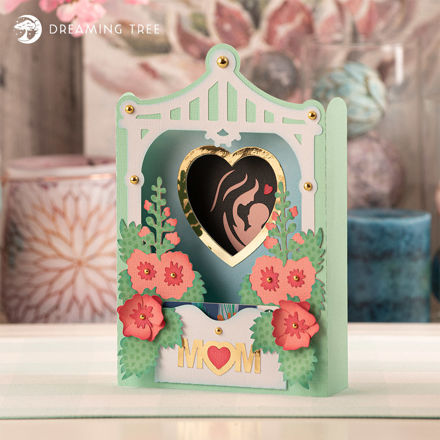 Picture of Mother's Day Paperscape Card SVG