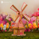 Tulip Time Windmill