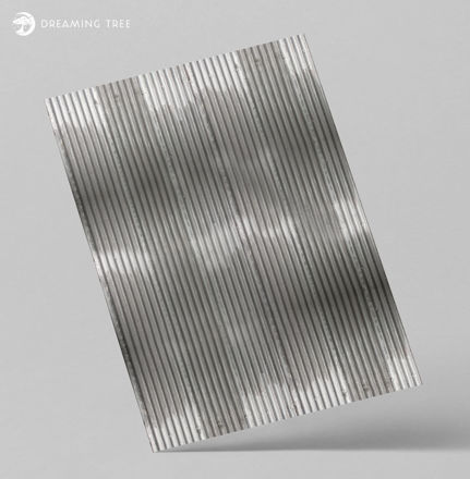 Picture of Corrugated Metal Roof Digital Paper (Free)