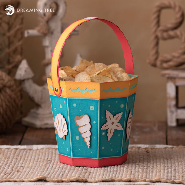 Picture of Sand Pail Treat Bucket SVG