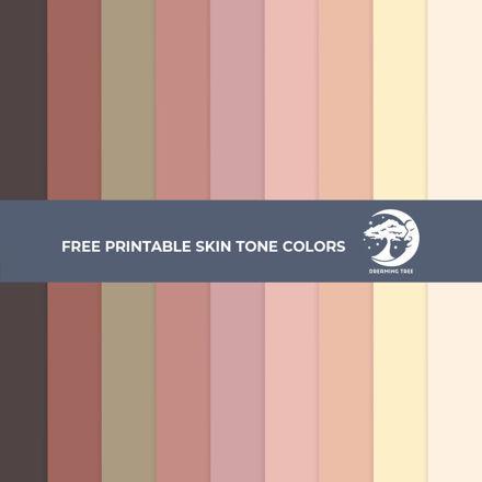 Skin Tone Printables