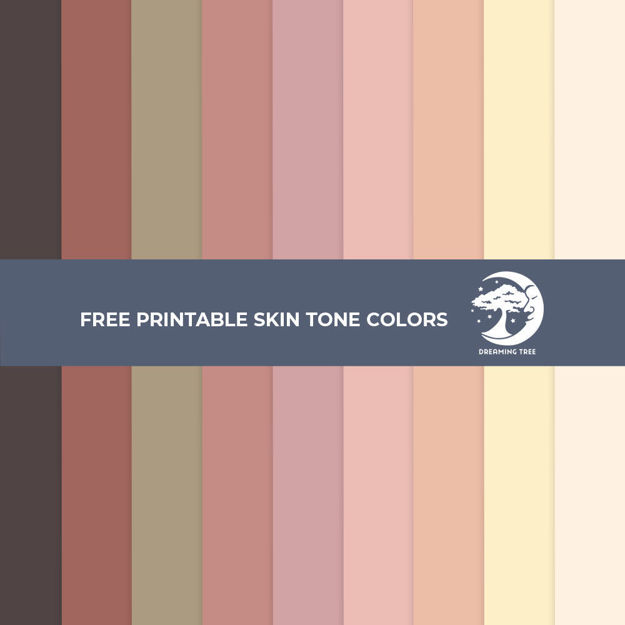 Picture of Skin Tone Printables