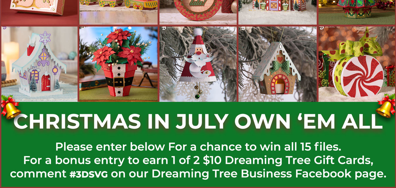 Christmas In July 'Own 'Em All' Contest