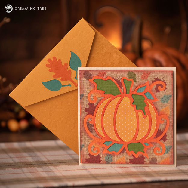 Fall Pumpkin Greeting Card