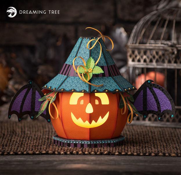 Jack-O-Lantern Halloween Luminary