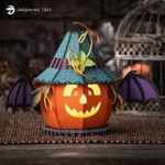 Batty Pumpkin SVG