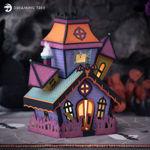 Haunted House Halloween Decorations