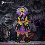 Jointed Witch Halloween Decorations