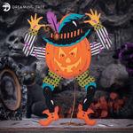 Jointed Pumpkin Head Halloween Decorations