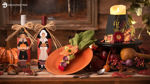Thanksgiving Host or Hostess Gifts and Table Place Setting