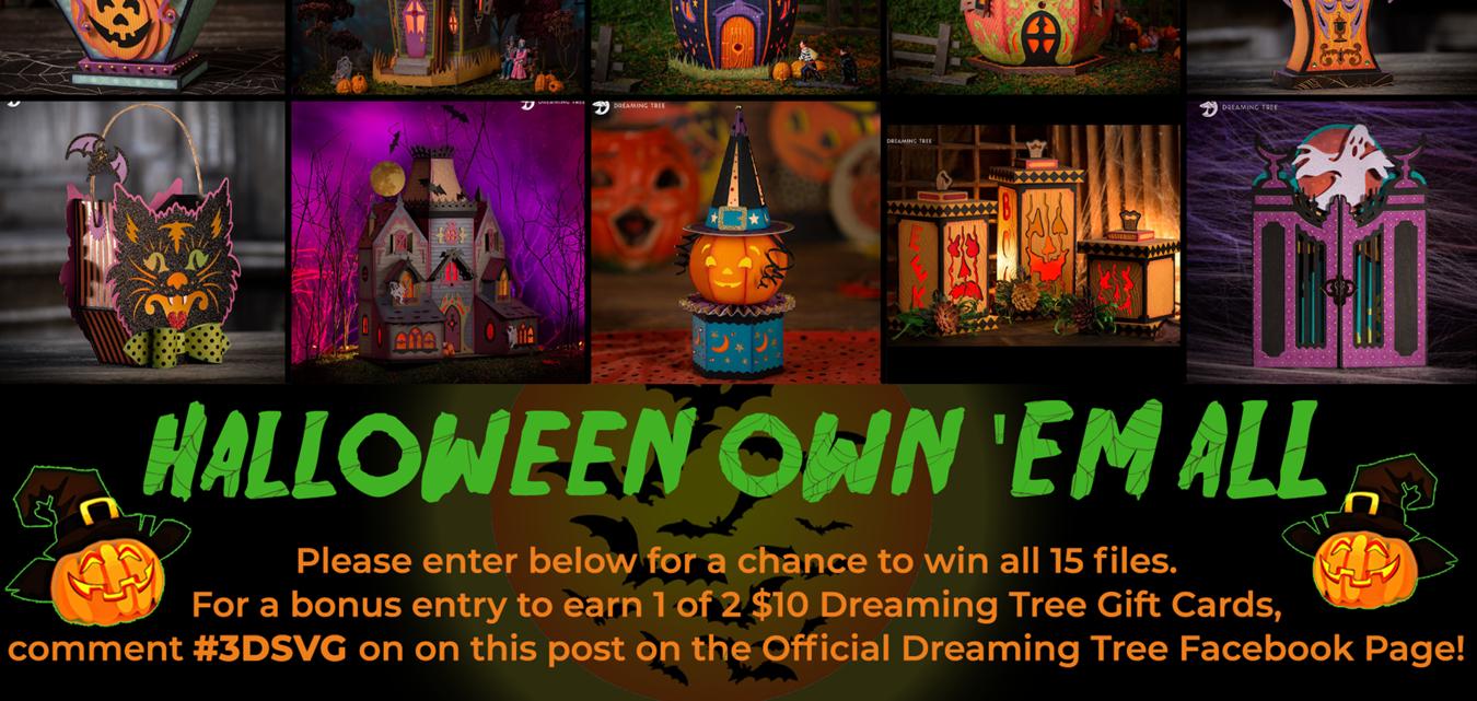Halloween Own 'Em All Contest